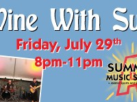 Wine with Sue July 29th Show