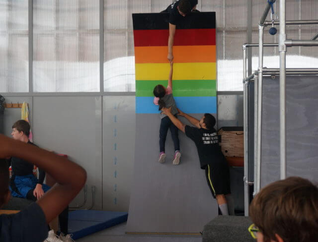 parkour camp, parkour summer camp, ninja warrior camp, summer sports camp brooklyn