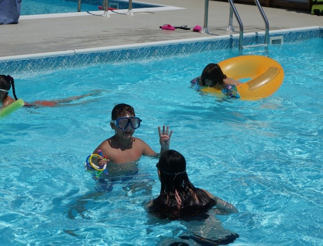 Enjoy picnics and barbecues and pool parties at Aviator Sports in Brooklyn!
