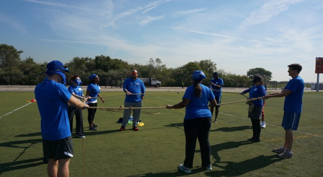 team building activities with a rope circle