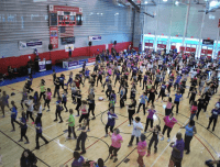 Zumba Field House Event