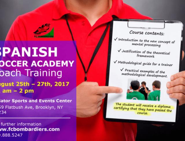 Spanish Soccer Academy Coach Training