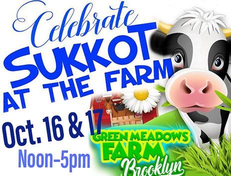 sukkot, green meadows farm