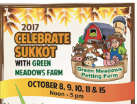 Sukkot event at Green Meadows Farm