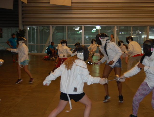 fencing group class new york