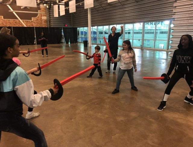 FENCING CLASSES NEW YORK