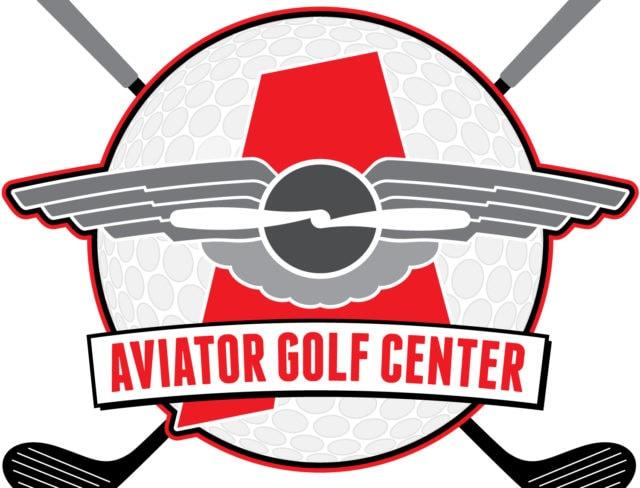 Aviator Golf Center Logo