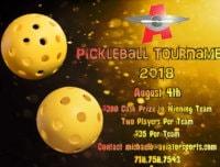 Pickleball Tournament Flyer