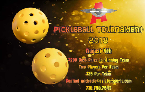 Pickleball Tournament Flyer