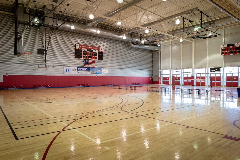 Indoor Basketball Court In Brooklyn