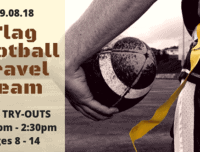 flag football, travel flag football, youth flag football, youth travel team, youth flag football team, flag football tryouts