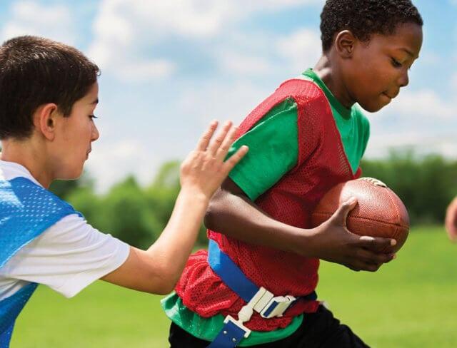 flag football, youth travel team, flag football for kids, coed flag football, sports for kids, kids sports