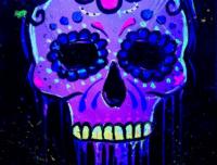paint nite, sugar skull