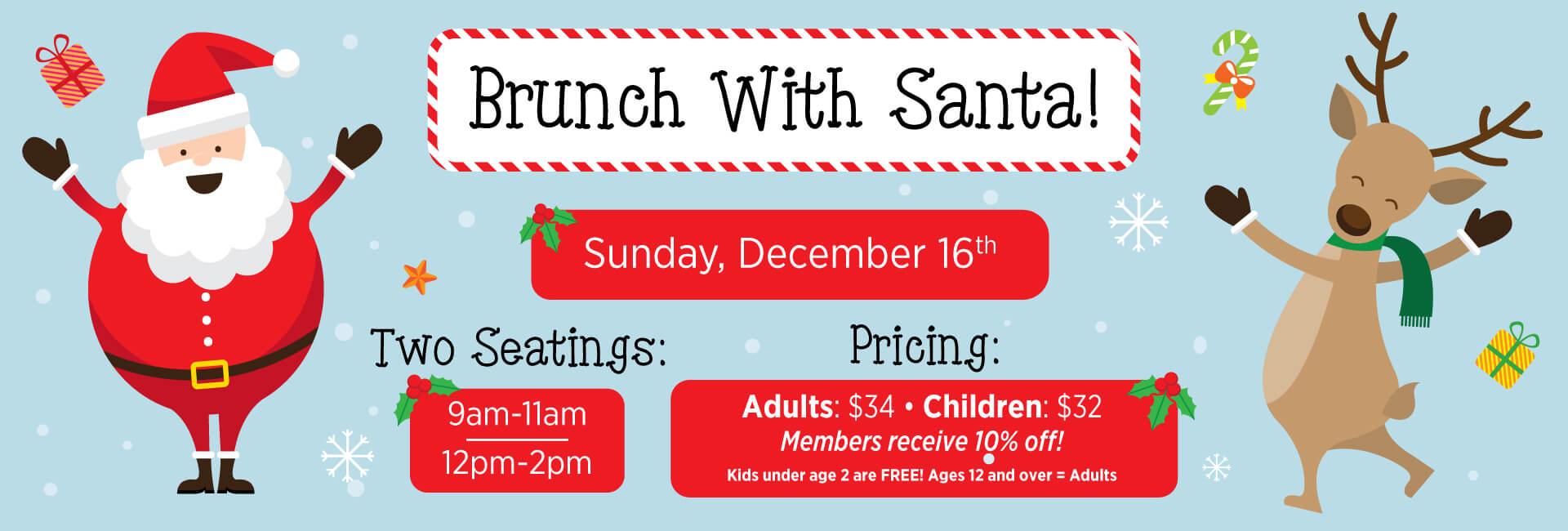 Brunch With Santa Homepage Slider