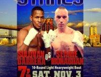 Sullivan Barrera vs. Seanie Monaghan