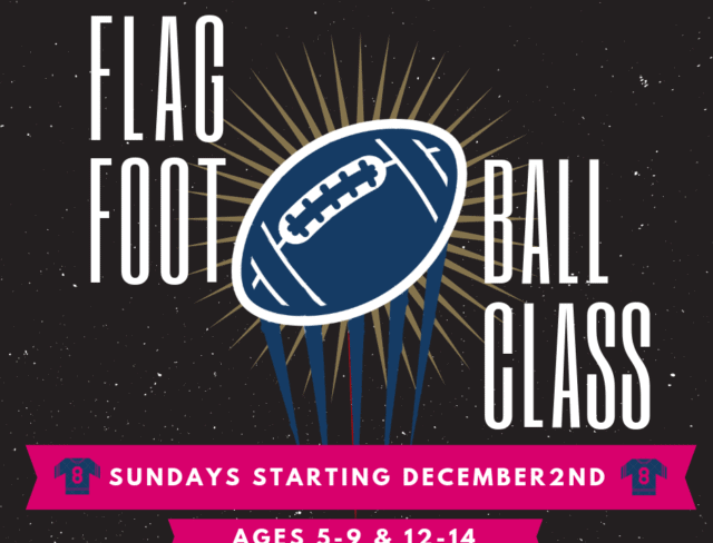 flag football classes, kids flag football classes, flag football kids,
