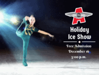 ice show, aviator dazzlers, holiday ice show, holiday show, holiday ice