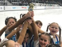ice skating, ice skating trophy
