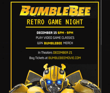 bumblebee retro game
