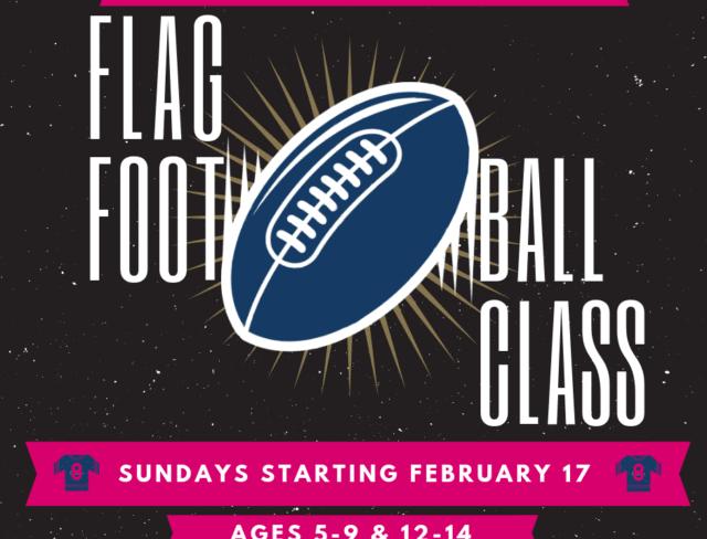 flag football, flag football classes for kids