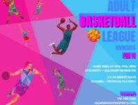 Adult Basketball League, Adult League, Mens League, basketball league mens