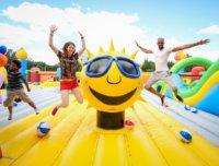 trampoline park, big bounce america