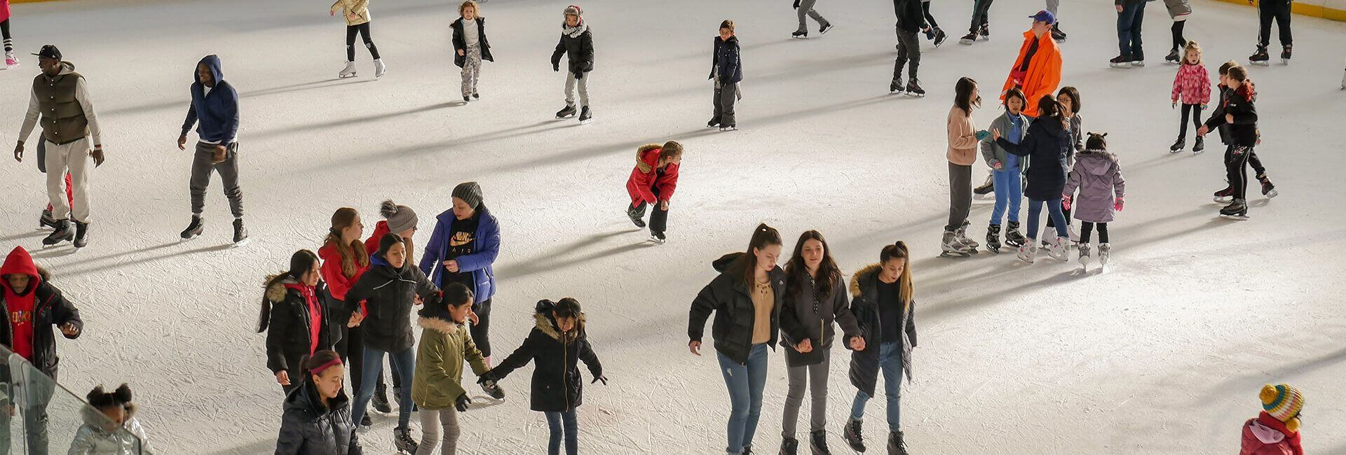 public ice skating, ice skating, sports and events