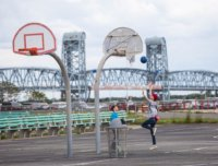 riis park beach, jacob riis park, riis park events
