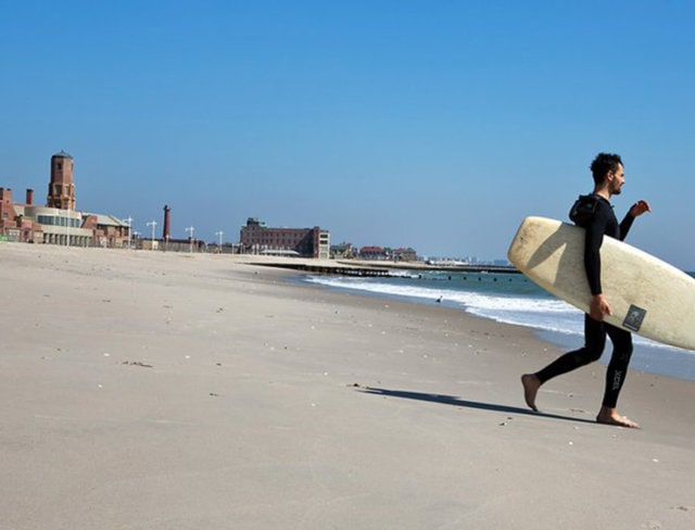 riis park beach, jacob riis park beach