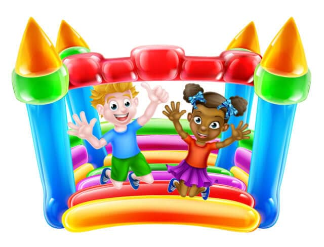 Bounce castle, bouncey house, bounce house