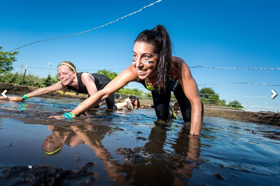 Obstacles at Rugged Maniac