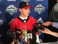 Shane pinto, nhl draft interview