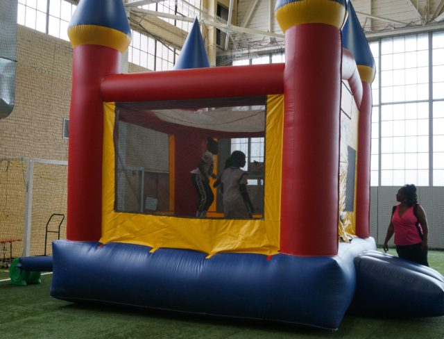 bouncey house party