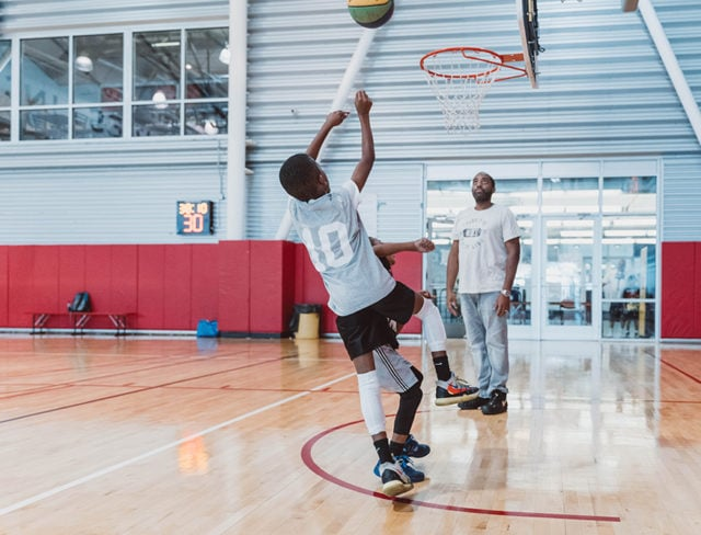 basketball leagues for kids near me