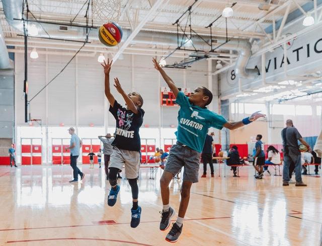 childrens basketball league
