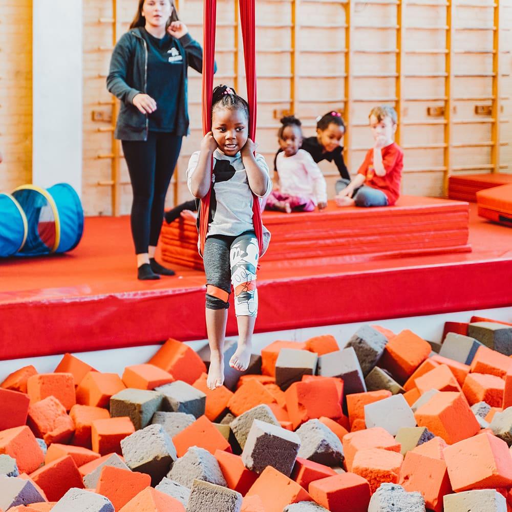 Gymnastics Birthday Parties Brooklyn Aviator Sports