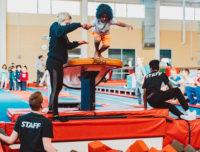 gymnastics party places