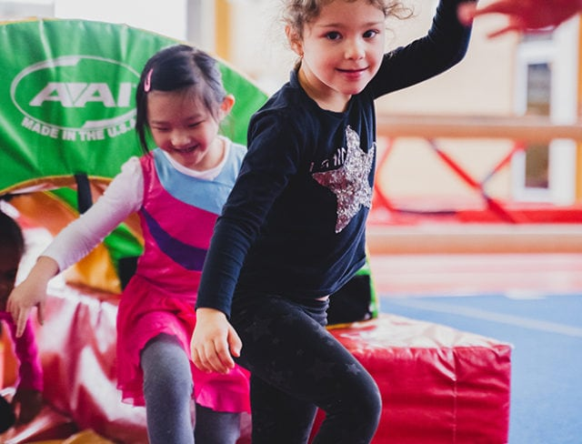 gymnastics kindergarten classes