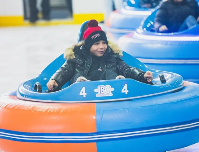 ice bumper cars nyc
