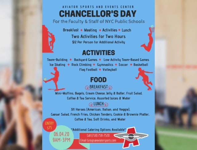 Aviator Sports Chancellor's day flyer