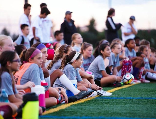 girls soccer training and classes at aviator sports brooklyn