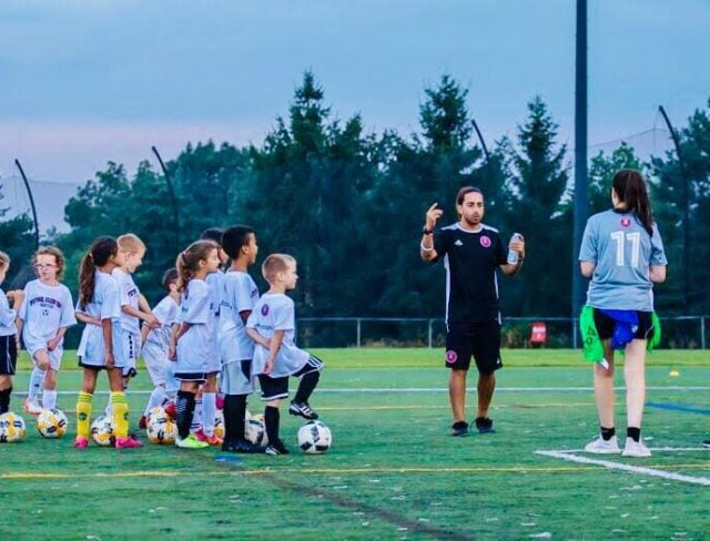 youth soccer camps at aviator sports