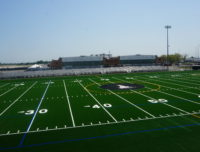 Announcer view of outdoor turf field 1