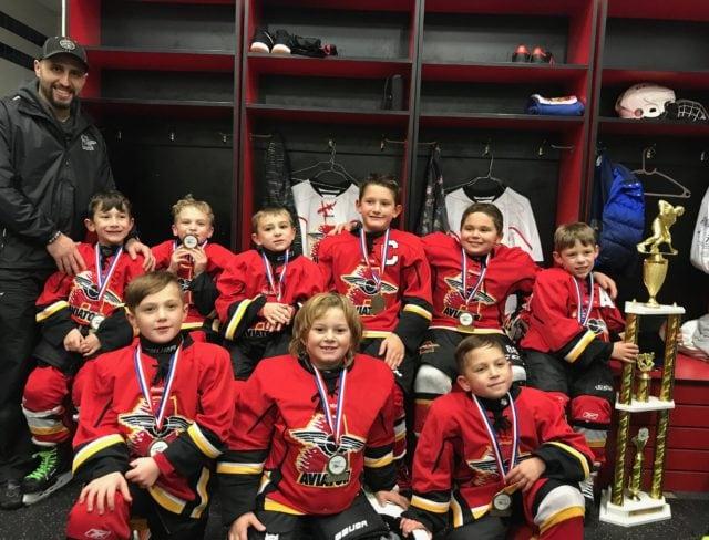 Aviator Hockey Mite Minor Champions