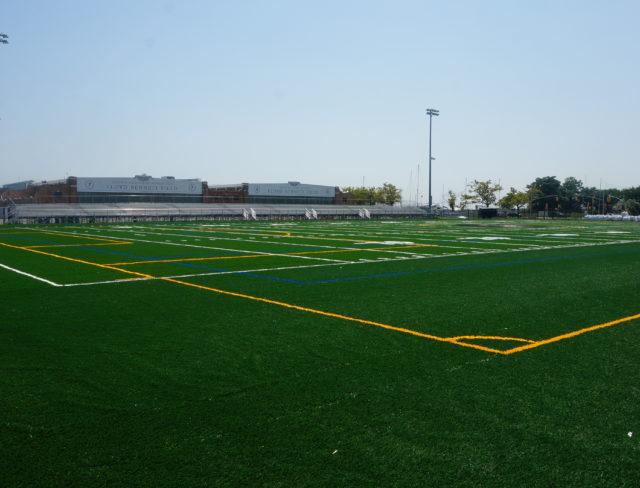 Xaverian High School Logo Turf Field