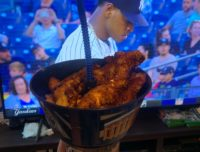 Grub Tub while watching Yankees game