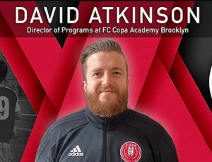 FC Copa Hires David Atkinson as Director of Programs at FC Copa Academy Brooklyn